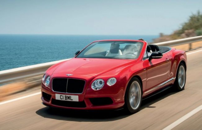 Bentley Continental GT V8 S 2014