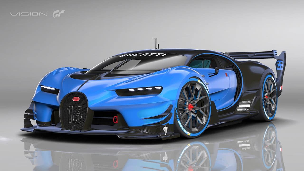 Bugatti Vision Gran Turismo : Un design hyper racé pour une nouvelle ère