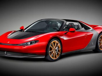 Ferrari Sergio, un spider racé ultra-exclusif