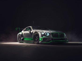 Bentley Motorsport dévoile sa nouvelle Continental GT3