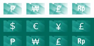 Liste des codes HTML des symboles monétaires (devises en cours)