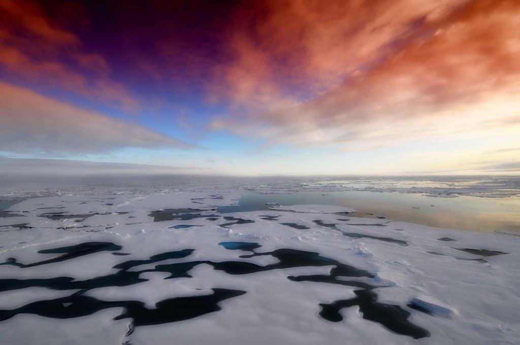 Inexorable fonte des calottes glaciaires