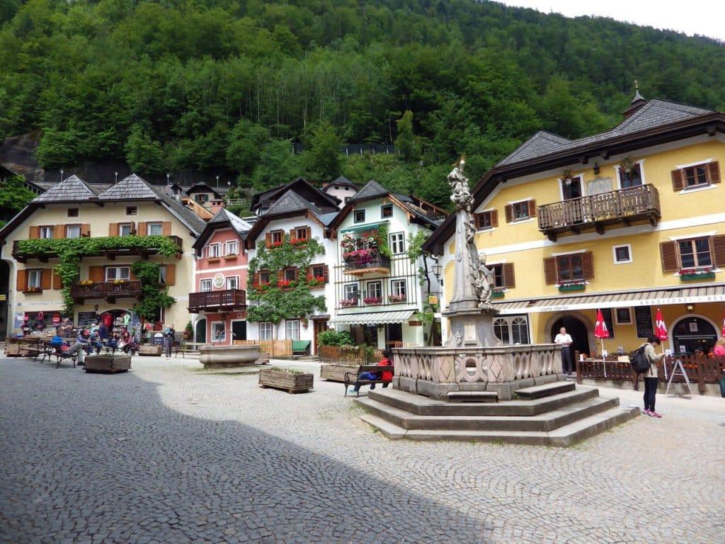 Hallstatt - Marktplatz