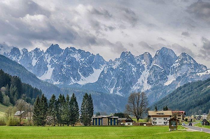 La vallée de l'Echern au pied du Dachstein