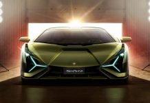 La Lamborghini Sián dévoilée au Salon de Francfort 2019