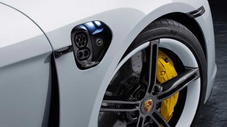 Porsche Taycan 2020 © Porsche