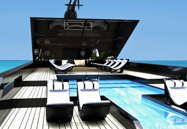 Superyacht Black Swan © Timur Bozca