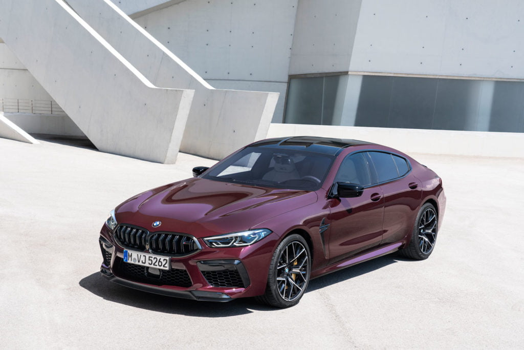 BMW M8 Competition Gran Coupé 2020 @ BMW
