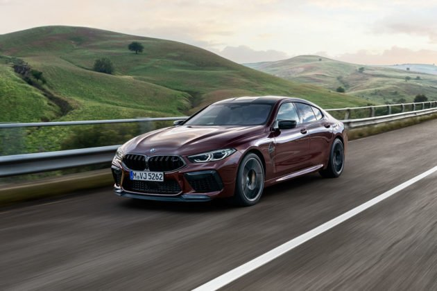 BMW M8 Competition Gran Coupé 2020 © BMW