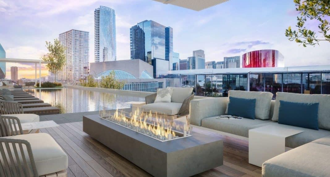 Hall Arts Residences : la tour de luxe la plus saine et écologique du Texas