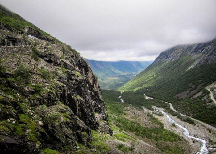 Trollveggen (Mur des Trolls - Norvège)