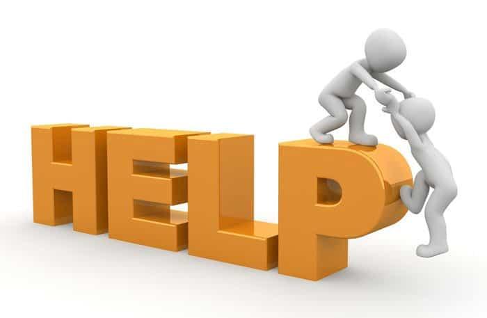Les pages d'aide renforcent la crédibilité d'un site web