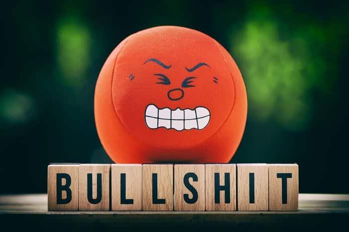 Quelqu'un de mauvaise humeur pourrait mal interpréter l'intégralité de votre contenu.
