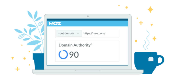 La métrique Domain Authority a été développée par Moz