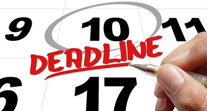 Tenez vos deadlines afin que votre stratégie d'inbound marketing reste efficace dans le temps.