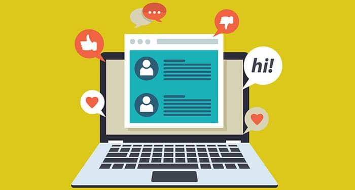 Votre blog d'entreprise vous permet de discuter avec vos lecteurs.