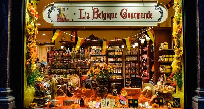 Chocolaterie à Bruxelles