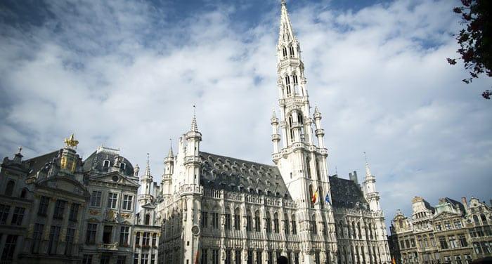 L'hôtel de ville de Bruxelles