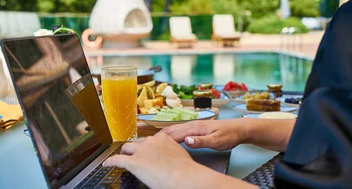 Le rédacteur Web peut être un digital nomad.