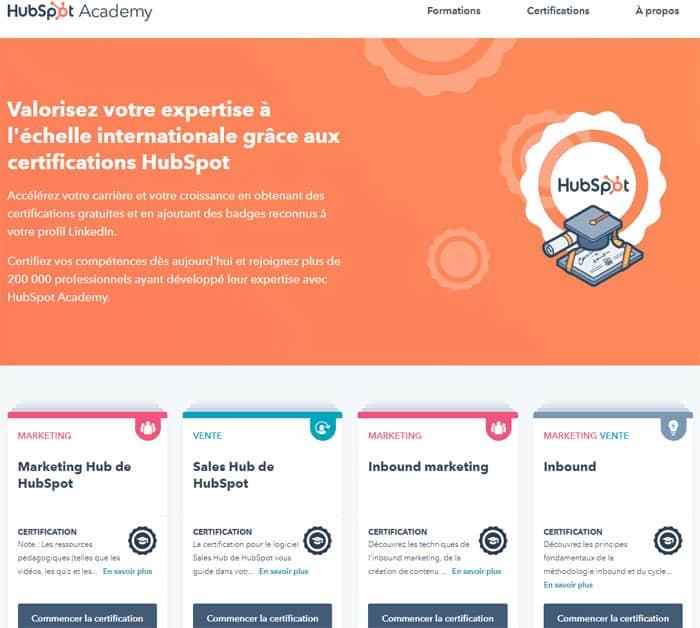 Valorisez votre expertise SEO avec la certification HubSpot.